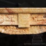 Prodotto caldo 2018 della scultura del camino del marmo della giada di Songxiang