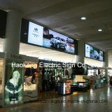 Loja de roupas Caixas de luz de publicidade LED Quadros de alumínio