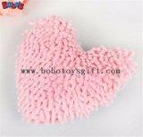 brinquedo macio material do osso da cor-de-rosa do luxuoso 100%Polyester com Squeaker BOSW1076/22CM