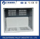 Caixa de pálete plástica durável 606L do produto comestível grande