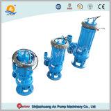 Non-Clogging centrifuge submersible électrique de pression de pompe d'eaux usées
