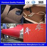Alfombra doble del pie del coche de bobina del color del PVC de los materiales plásticos y del color del monocromo