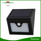 Último modelo de 1W Super brillante LED de 28 de pared de luz solar inalámbrico de exterior Lámpara de Pared decorar Porche, terraza