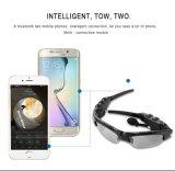 Intelligentes Gläser Bluetooth V4.1 Sunglass 4 Farbensun-Glas Sports Kopfhörer-MP3-Player Bluetooth Telefon-drahtlose Kopfhörer Bluetooth Brillen