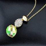 新しい項目合金の水晶吊り下げ式の方法宝石類のネックレス