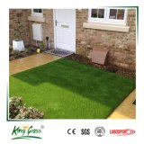 20 mm de alta calidad natural de alfombra de césped artificial para balcón