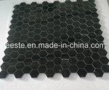 De populaire Tegel van het Mozaïek van de Bevloering van Naro Marquina Zwarte Marmeren, Mozaïek
