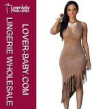De Kleding van het Lovertje van de manier en Dames Jumpsuit die Reeksen kleden (l55206-1)