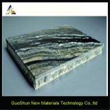 Zusammengesetzte Panel-Bienenwabe-Zwischenlage-Partition-Marmor-Beschichtung-Aluminiumfarbe