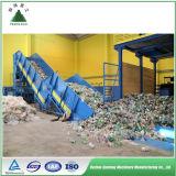 Pressa per balle idraulica orizzontale di alta qualità approvata del Ce per la pianta di riciclaggio