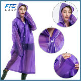 Rainwear перемещения изготовленный на заказ людей женщин плаща логоса прозрачных портативный