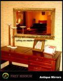 Euopean romantique aux chandelles à l'Ornement miroir encadré de bois