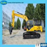 Escavatore del cingolo dell'attrezzatura pesante da costruzione da vendere con il certificato di iso
