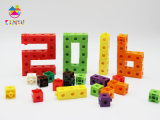 Brinquedo de Aprendizagem Educacional Hotsale 2016, Cubos de Pop-up Snap de Plástico