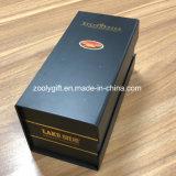 Het gouden Embleem die van de Folie het Vouwbare Vlakke Vakje van het Document van de Wijn van de Verpakking stempelen