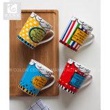 De hete Verkopende 12oz Ceramische Mok van de Koffie van de Gift Promotie