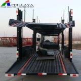 Doppio veicolo del trasporto del rimorchio dell'elemento portante di automobile del cilindro idraulico degli assi