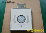 Venta caliente IP65 Smart Control Solar LED integrada de la luz de la calle