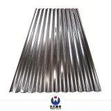 Lamiera di acciaio rivestita dello zinco ondulato del comitato del tetto di PPGI