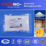증류된 Monoglycerides Food Emulsifier E471로 40/90 Glycerin Monostearate