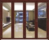 Porta branca/porta de alumínio/porta de dobradura