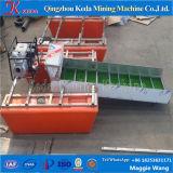 Mini barco da recuperação do ouro em Keda