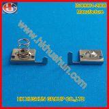 Contatto compiacente con la nichelatura, frammenti di proiettile della batteria (HS-BA-017) della molla della batteria di RoHS