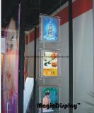 LED transparente Caja de luz para agencia de viajes