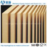 Preços de madeira crus do MDF/MDF/placa lisa do MDF para a mobília