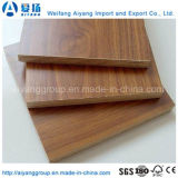 madera contrachapada favorable al medio ambiente de la melamina de 1220*2440m m