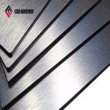 Ideabond RoHS poliéster titulados Painel Composto de alumínio escovado (AE-32A)