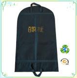 도매 Foldable 비 길쌈된 로고에 의하여 인쇄되는 여행용 양복 커버