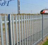Wの薄い三重点の鋼鉄柵の防御フェンス