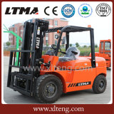 Ltma 5 Tonnen-manueller hydraulischer Dieselgabelstapler
