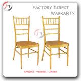 사건 Chiavari 2016의 백색 겹쳐 쌓이는 의자 (AT-46)