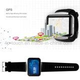 3G WiFiの手首の大きいタッチ画面Dm98が付いているスマートな腕時計の電話