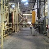 A capacidade anual de 5000m3 à linha de produção do cartão 100000m3