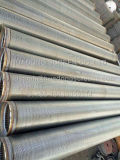 Acier inoxydable Johnson Wedge Wire Sand Control Well Drilling Screen