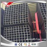 Casilla negra usada construcción y tubo hueco rectangular del acero de la sección