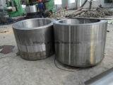Funda grande caliente del eje de los anillos 4140 del acero de forja