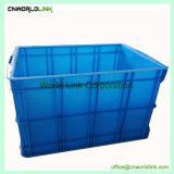 تخزين صناعيّ وعاء صندوق كبيرة قابل للتراكم بلاستيكيّة صلبة متحرّك