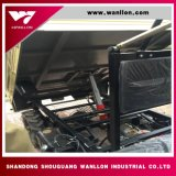 Motor Diesel Mini Dumpl caminhão de caixa basculante de ambos os lados Setp UTV