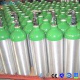 고압 알루미늄 작은 휴대용 산소 실린더 의학 산소 가스통