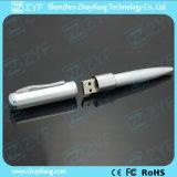 로고 (ZYF1184)를 가진 펜 모양 USB 섬광 드라이브