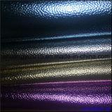 As sapatas de PU Bag Emboss película quente na superfície de couro