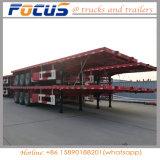 3 dell'asse 40FT del contenitore della piattaforma del camion del trattore rimorchio a base piatta semi