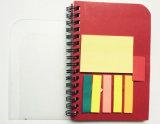 Blocnote van het Boek van /Note van het Notitieboekje van de Levering van het bureau het de Kleverige/Stootkussen van de Blocnote/van het Memorandum