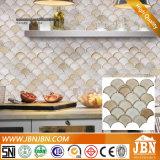 Het onregelmatige Shell Artistieke Met de hand gemaakte Ceramische Mozaïek van de Vorm (C655070)