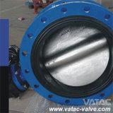 자리가 주어지는 고무를 가진 전기 압축 공기를 넣은 운영한 무쇠 또는 연성이 있는 철 플랜지 나비 벨브