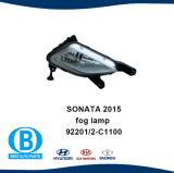 Luz de nevoeiro e a tampa Auto partes do corpo para a Hyundai Sonata 2015